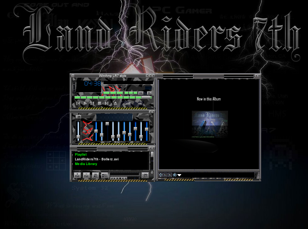 LR7Style08 MediaPlayer skins