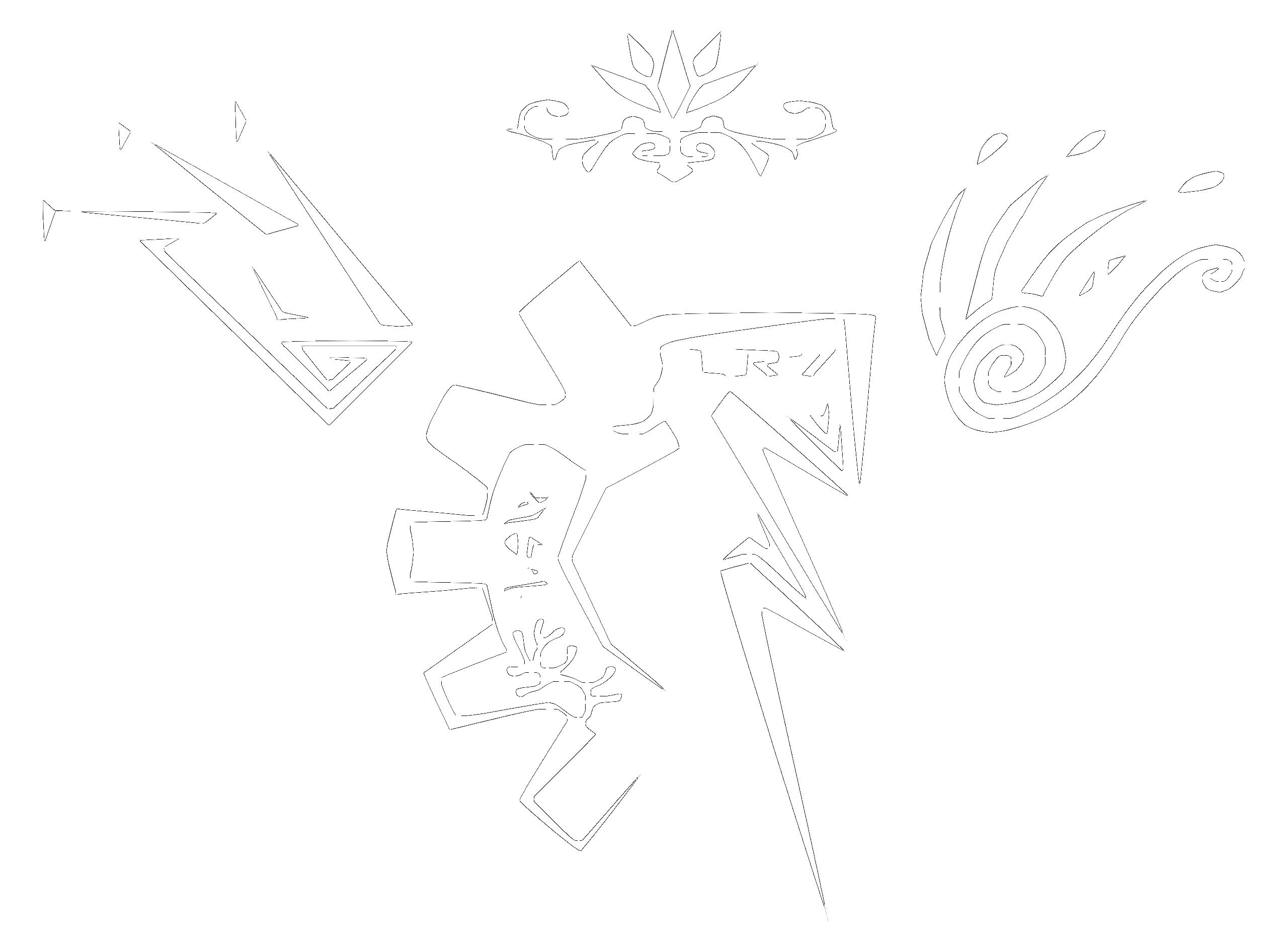 Land Riders leacy current symbols