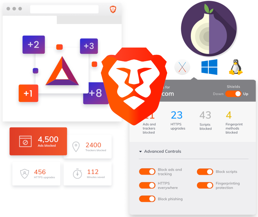 Brave web browser And Extensions to Add