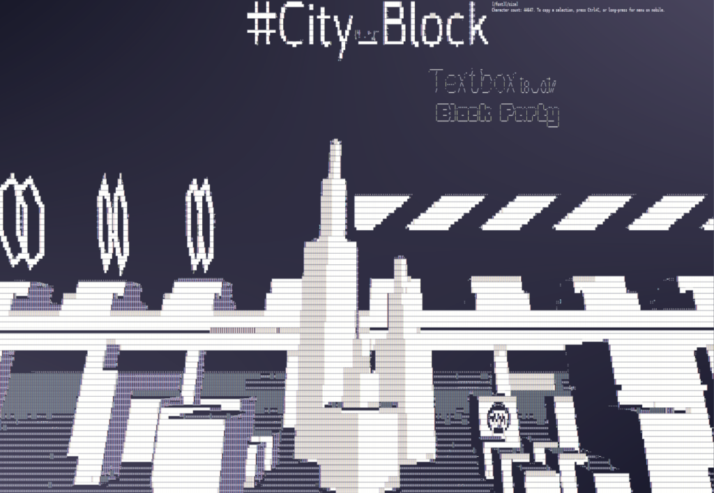 Bleep is now Called City_Block